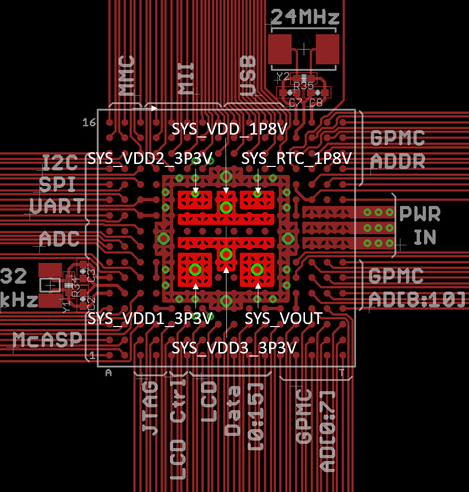 OSD335x-SM Layout Guide